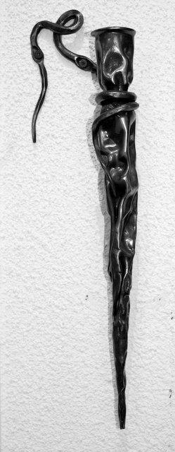 wall mounted candle holder  u2013 bc blacksmith